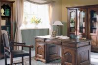 Мебель для домашнего кабинета из массива