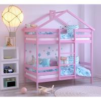 Кровати-домики из массива березы