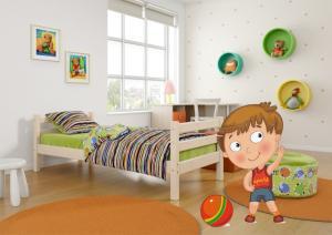 Кровать, Соня, вариант 1, Мебельград, купить, в Москве, с, доставкой