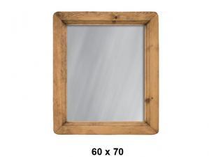 Зеркало из сосны 60х70 в Воронеже, Зеркало из сосны 60х70 в Москве