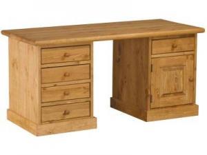 Купить письменный стол из сосны длиной 1500 мм