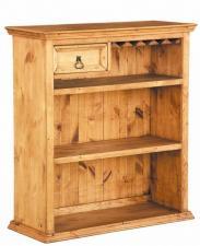 Деревянный бар для гостиной цена, Бар Библио сосна