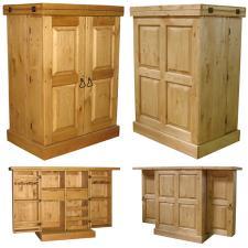 Купить деревянный бар для дачи, Бар из сосны BAROUV  с доставкой