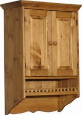Шкаф для кухни настенный 600 мм в стиле Прованс