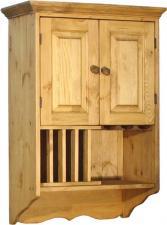 Деревянный навесной шкаф для кухни ПЛ 25 К (600) Воронеж
