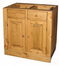 Шкаф-стол для кухни из массива, Шкаф-стол для кухни из сосны