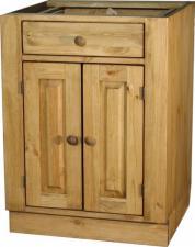 Кухонный стол под мойку массив, Стол под мойку из сосны Воронеж, Стол под мойку 600 мм Воронеж