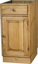 Тумба для кухни с ящиком из сосны купить, тумба 400мм из сосны для кухни, кухонный шкаф-стол Волшебная сосна в Воронеже