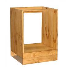 Шкаф-стол для техники 600 мм в Воронеже, Тумба из сосны под технику в Воронеже