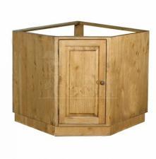 Деревянный угловой стол под мойку из массива ПЛ33 Pin magic, Волшебная сосна стол под мойку угловой, Тумба под мойку из дерева угловая купить