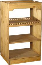 Деревянный шкаф-стол для барной стойки Волшебная сосна, Шкаф-стол барный из сосны Воронеж, Шкаф-стол барный из сосны Москва